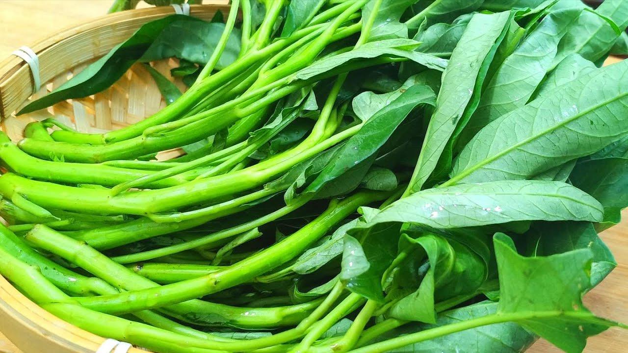 為什麼你炒的空心菜又發黃又發黑?學會這一招,空心菜翠綠又清爽
